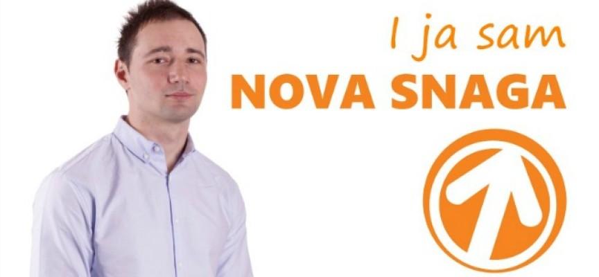 Igor Jevtić – DJ Muki: Mladi staju uz Novu Snagu!