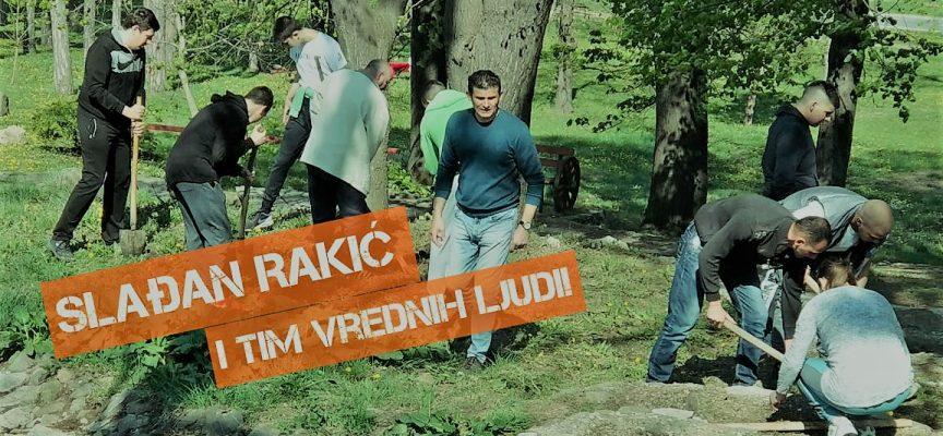 RADNA AKCIJA: Slađan Rakić i njegov tim ponovo oživeli Eko park u Ilinoj vodi (FOTO, VIDEO)