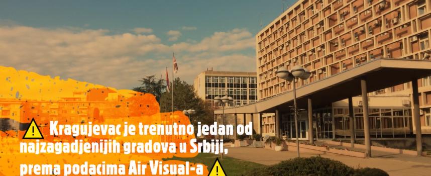 Ćutanje o zagađenju vazduha je jasna poruka – snađite se sami (VIDEO)