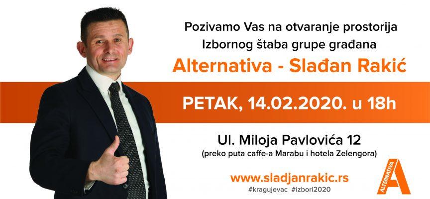 Otvaranje prostorija Izbornog štaba Alternative!